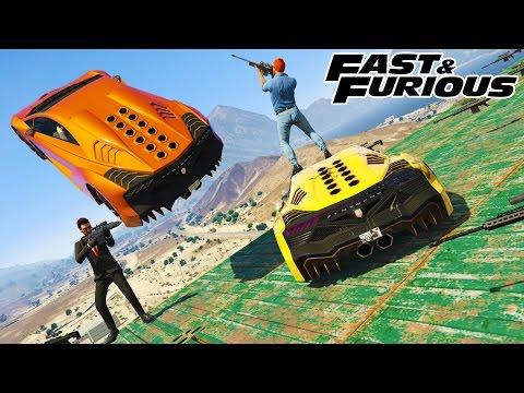 New FAST & FURIOUS Snipers vs Stunters & RPGs & Trucks & More  (GTA 5 Online)