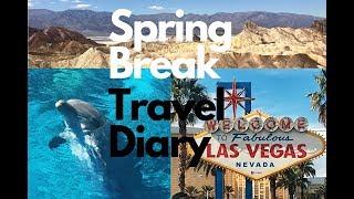 Spring Break Travel Diary🐬🌸 🌞