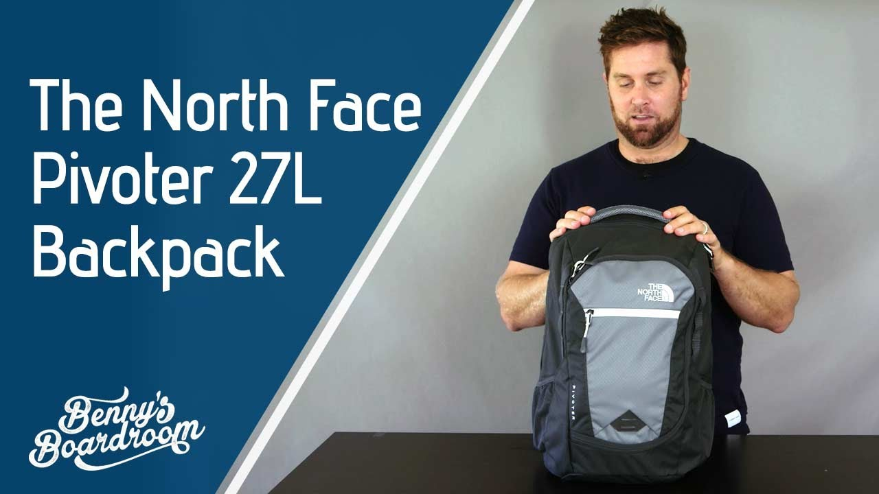 26423592c The North Face Pivoter Backpack Walkthrough - Benny's Boardroom