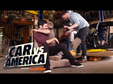 Mike And Raphael Go Skid Plate Racing In North Carolina | Car vs America