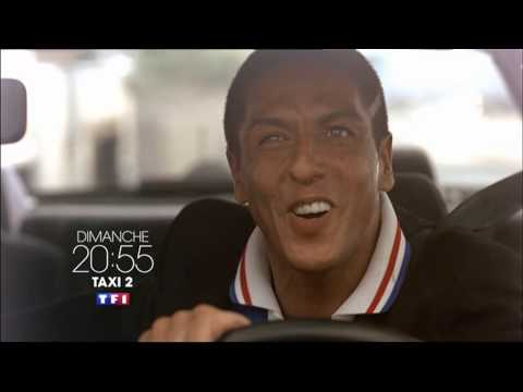 Taxi 2 Dimanche 20h55 TF1 7 8 2014 saly naceri Frédéric Diefenthal