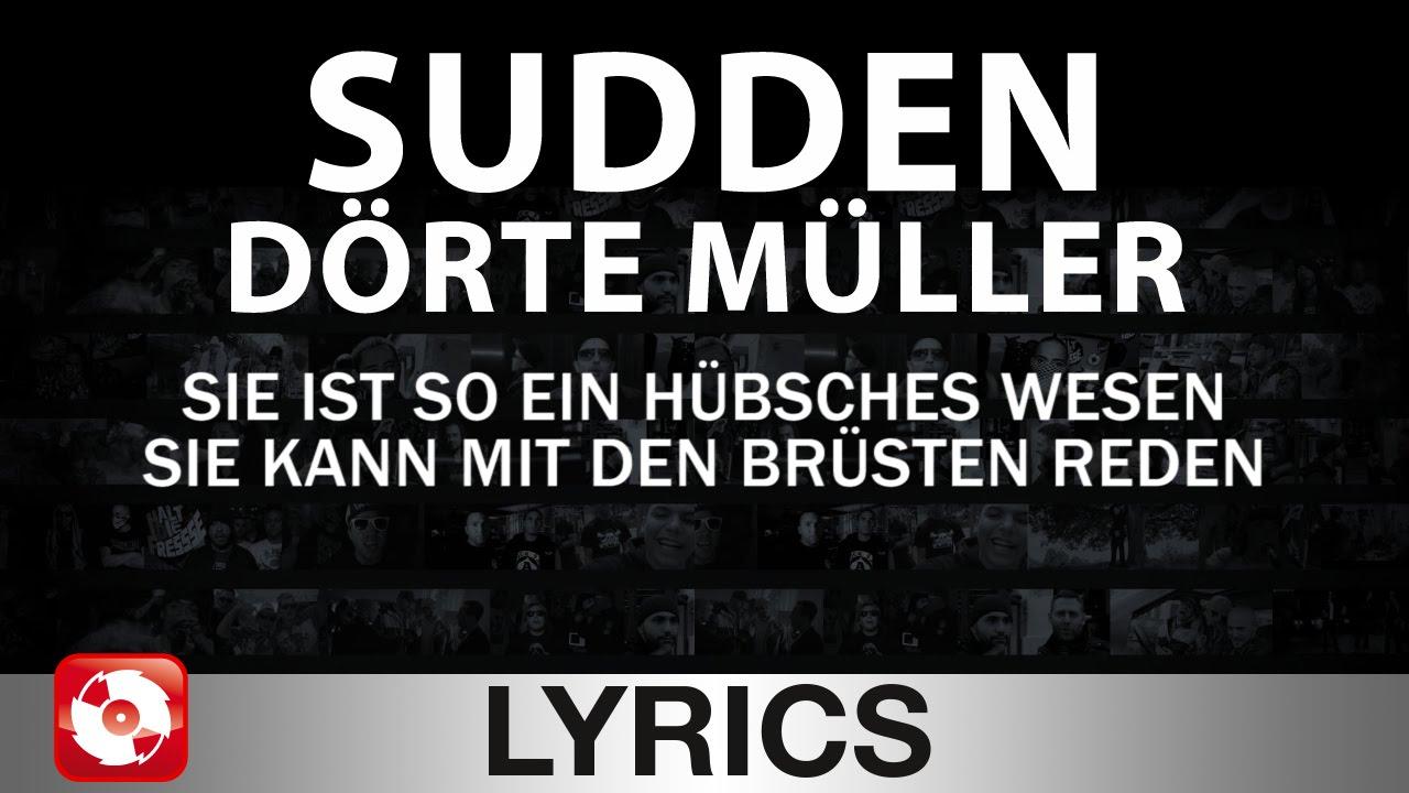Doerte mueller feat sudden und lionttv