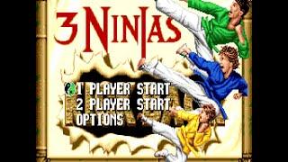 Mega-CD Longplay [033] 3 Ninjas kick back