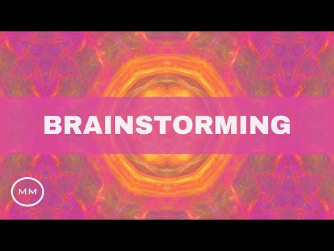 Brainstorming Music - Generate Ideas FAST with Randomized Frequencies - Focus Music - Binaural Beats
