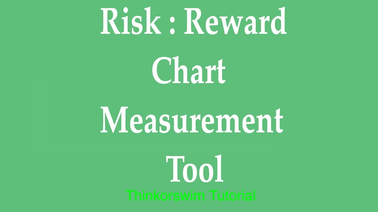 Think-or-swim Chart Measurement Tool - Measuring Risk to Reward -  ThinkOrSwim Tutorial