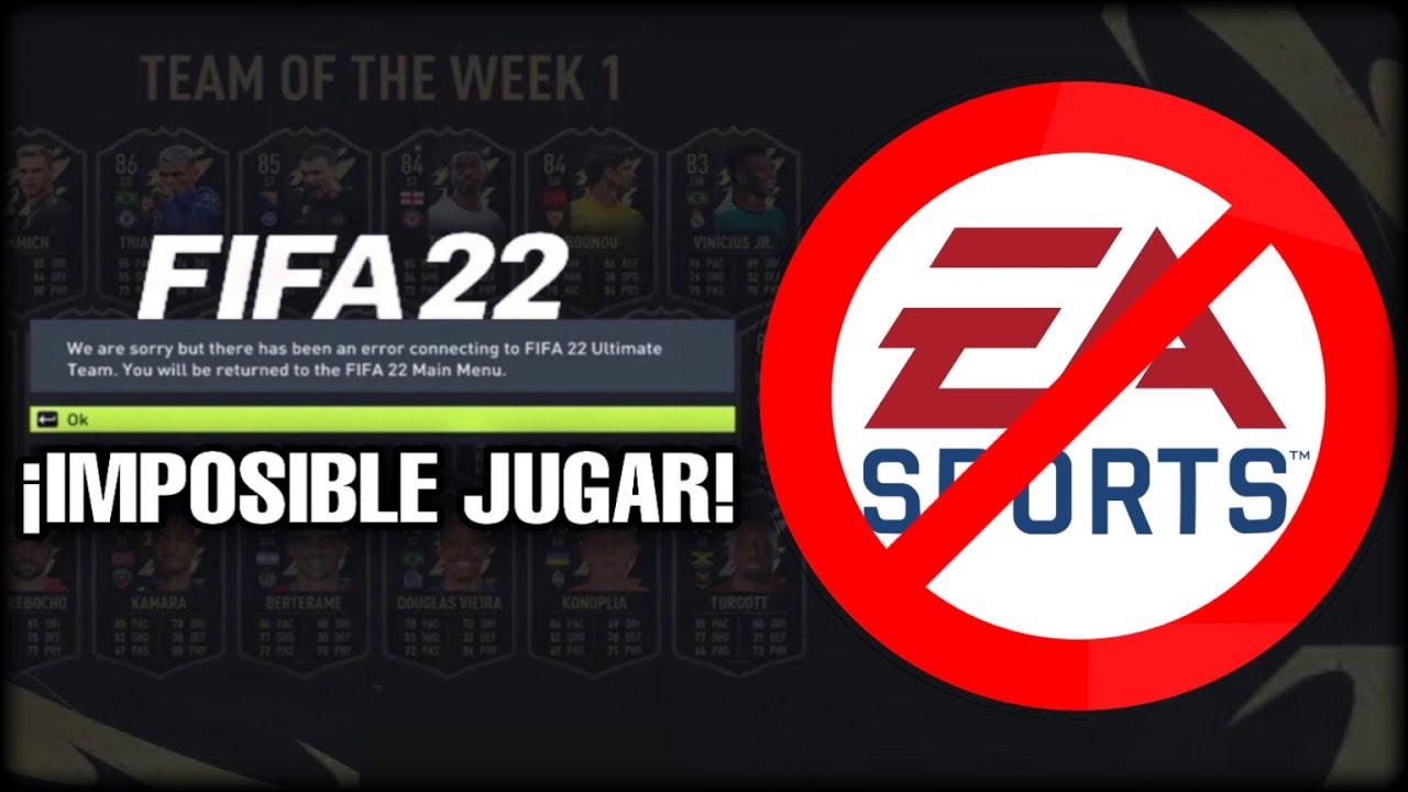 6 GRAVES ERRORES QUE PRESENTA FIFA 22   ¿QUÉ HAS HECHO EA?