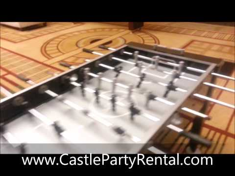 Sports & Table Game Rentals in Chicago IL