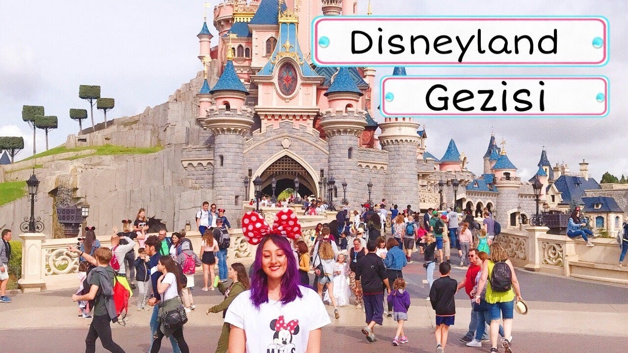 DISNEYLAND (PARİS) GEZİSİ 2018 - Disneyland Park'ta Bir Gün ❤️