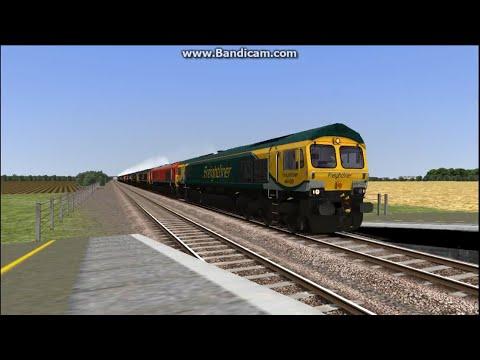 Train Simulator 2017 - Steam Train Convoy of 66's 02/07/17 |