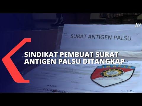 Download Polisi Tangkap Sindikat Pembuat Surat Antigen Palsu di Depok