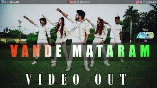Vande Mataram Disney's ABCD 2 Dance Video By U SQUAD DANCE STUDIO l Varun Dhawan & Shraddha Kapoor