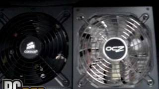unboxing corsair tx750 preview con ocz fatal1ty 750w parte 1