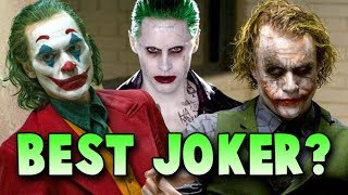 Best Joker? - Where Does Joaquin Phoenix Rank vs Heath Ledger, Jack Nicholson, Jared Leto...
