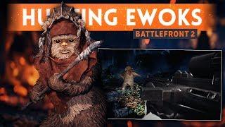 HUNTING EWOKS w/ BattlefrontUpdates! - Star Wars Battlefront 2 (Ewok Hunt Mode Gameplay)
