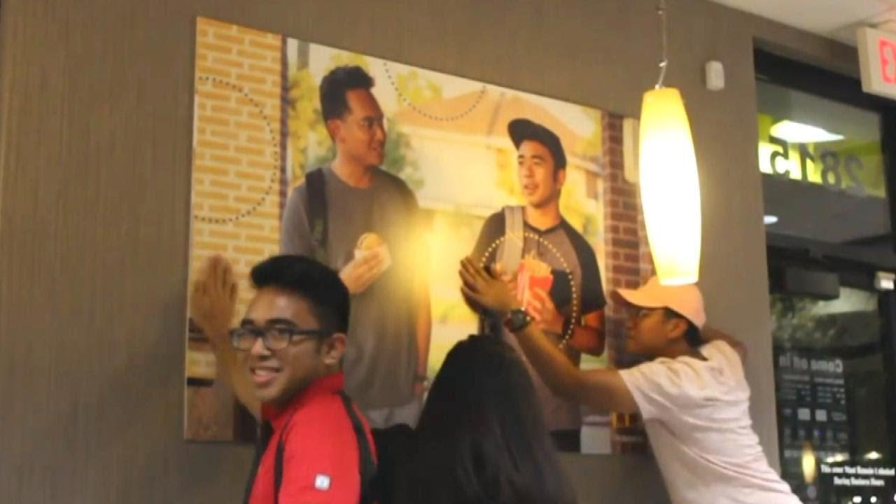 Image result for two guys mcdonalds poster