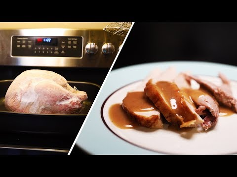 Turkey Cooked FROZEN, No Thawing Stage