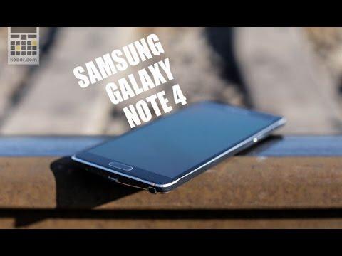 Samsung Galaxy Note 4 - обзор смартфона - Keddr.com