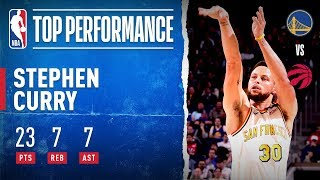 Steph Curry Drops 23 In Return!