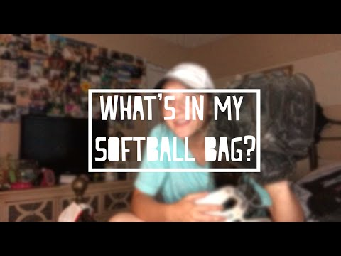 Whats In My Softball Bag? || Olivia Lacey