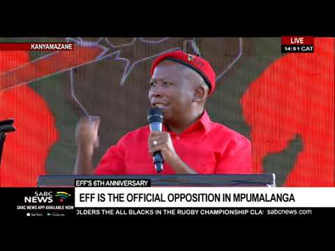 EFF leader Julius Malema's address at 6th anniversary celebrations
