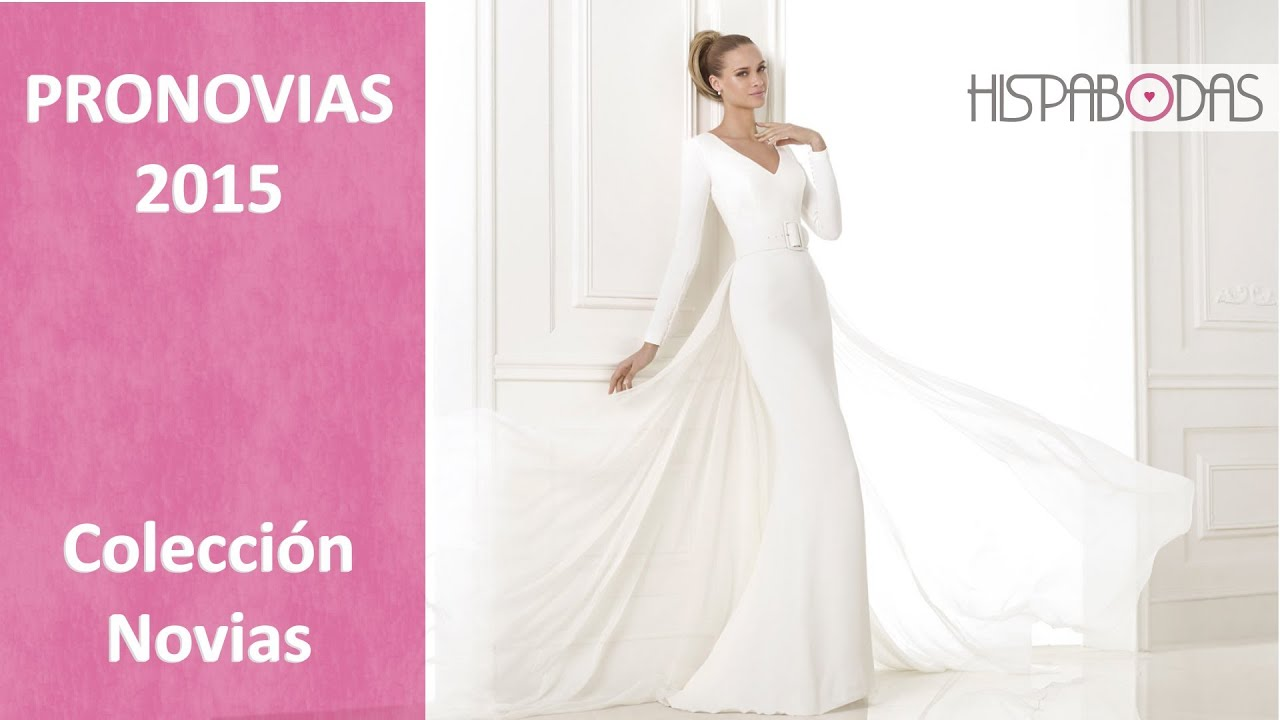 Attractive Vestidos Novia Pronovias 2015 Frieze - Colorful Wedding ...