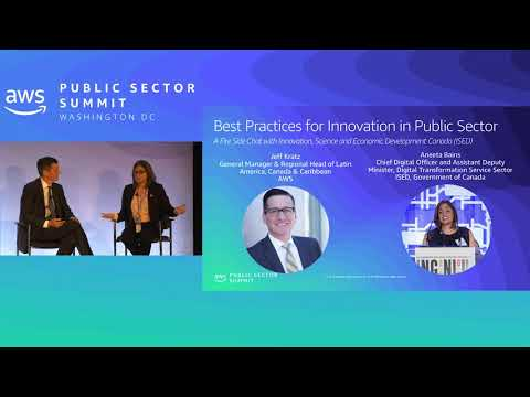 Best Practices For Innovation In Public Sector: A Fireside Chat With ISED Canada