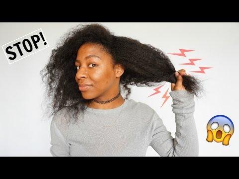 How To: STOP Hair Breakage//Hair Loss IMMEDIATELY | Natural Hair