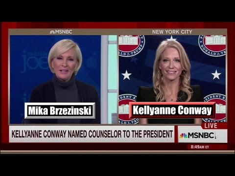 Kellyanne Conway Named Counselor to the President