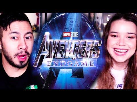 AVENGERS END GAME | Teaser Trailer Reaction