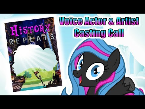 History Repeats Casting Call (Voice Actor and Artist Auditions Now Open)