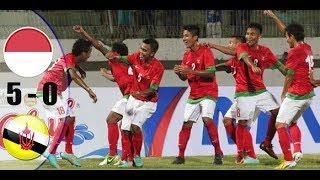 Video INDONESIA VS BRUNEI AFC U19 5-0 ALL GOAL & HIGHLIGHT 31 OCT 2017 download MP3, 3GP, MP4, WEBM, AVI, FLV April 2018