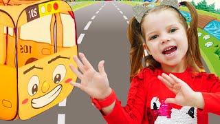 Ruedas En La Canción Del Autobús  - Cancion Infantil | Canciones Infantiles con Nicole