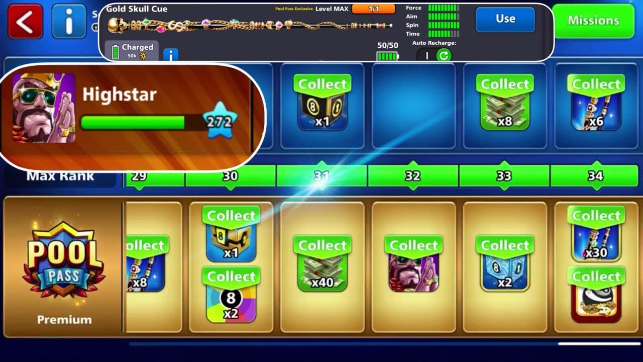Epic Game Berlin 50M + Pool Pass Max/ 8 Ball Pool - YouTube