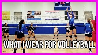 What I Wear To Volleyball // Volleyball Favorties