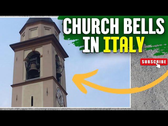 Church bells San Giovanni, Italy