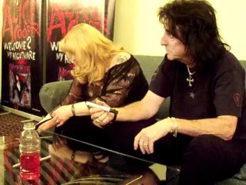 Meeting Alice Cooper