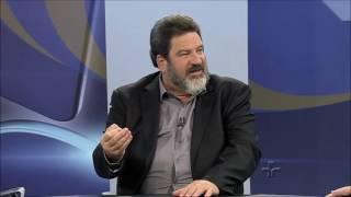 Mário Sérgio Cortella faz cientista político 'gaguejar' no JORNAL DA CULTURA