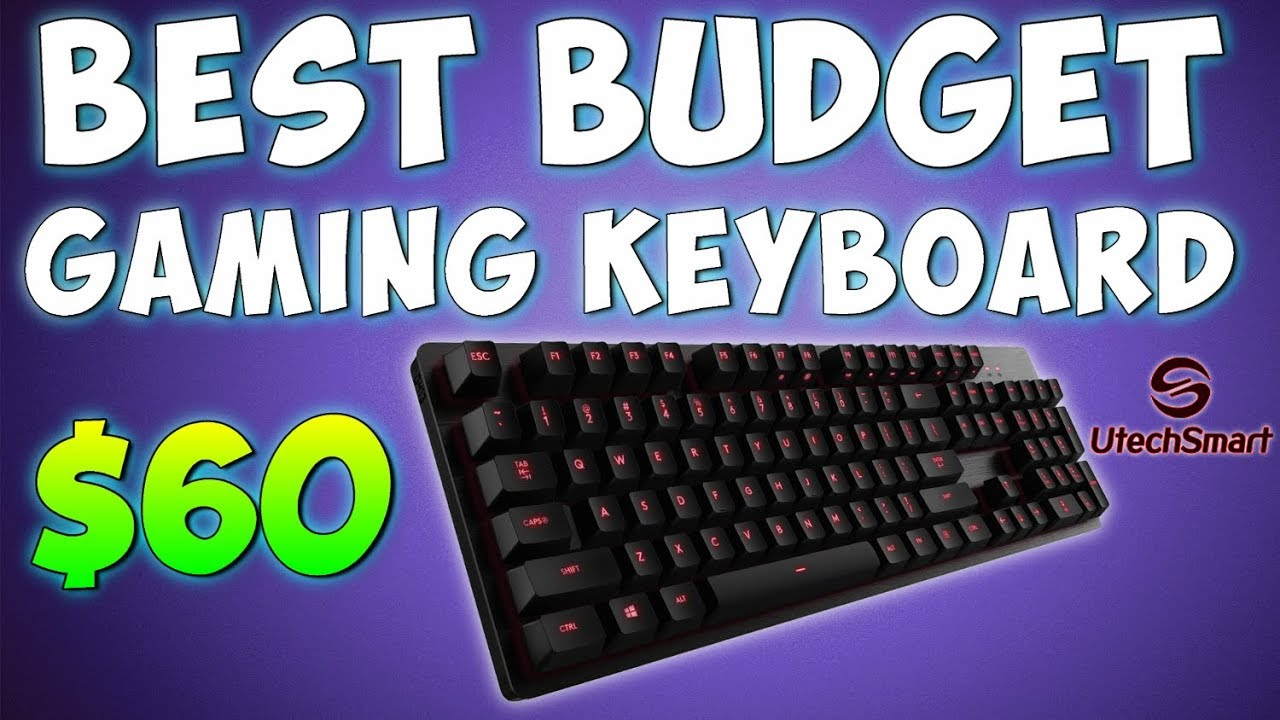best budget gaming keyboard 60 utechsmart wireless mechanical keyboard review youtube. Black Bedroom Furniture Sets. Home Design Ideas
