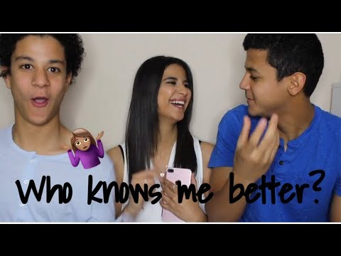 WHO KNOWS ME BETTER FT. MY BROTHERS | Dina Dash