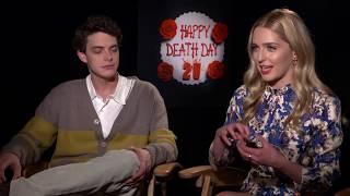 HAPPY DEATH DAY 2U Jessica Rothe & Israel Broussard Interview