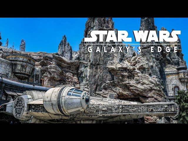 Millennium Falcon Smuggler's Run Full Ride POV Experience HD