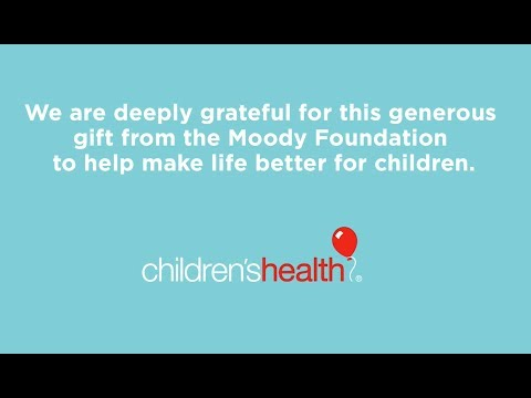 Moody Foundation Gives Generous Gift To Support Transformative Medical Research
