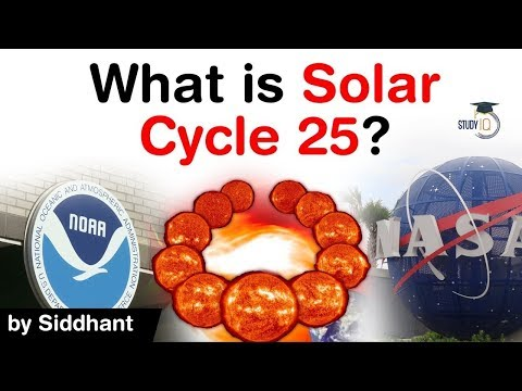 Solar Cycle 25 announced by NASA & NOAA scientists - How Solar Cycle affects our life? #UPSC #IAS