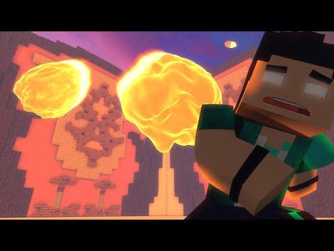 Minecraft: CHUVA DE METEORO!! - BUILD BATTLE MINI GAME