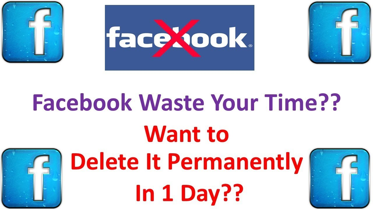 How To Delete Facebook Account Permanently Without 10 Days Waiting - 10