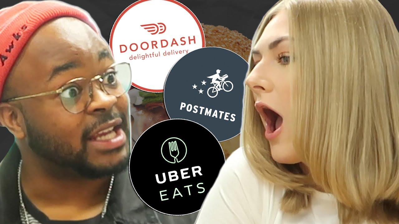 Download Who Delivers Faster: Postmates Vs. UberEats Vs. DoorDash