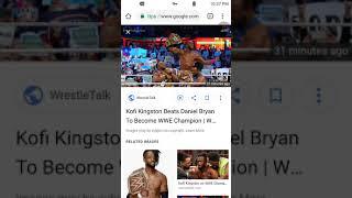 Kofi Kingston BEATS Daniel Bryan for the WWE Championship