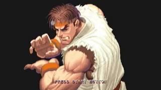 Super Street Fighter 2 X For Matching Service Intro Sega Dreamcast NTSC-J Version