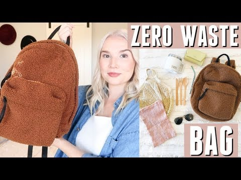 what's in my ZERO WASTE bag? | my sustainable essentials