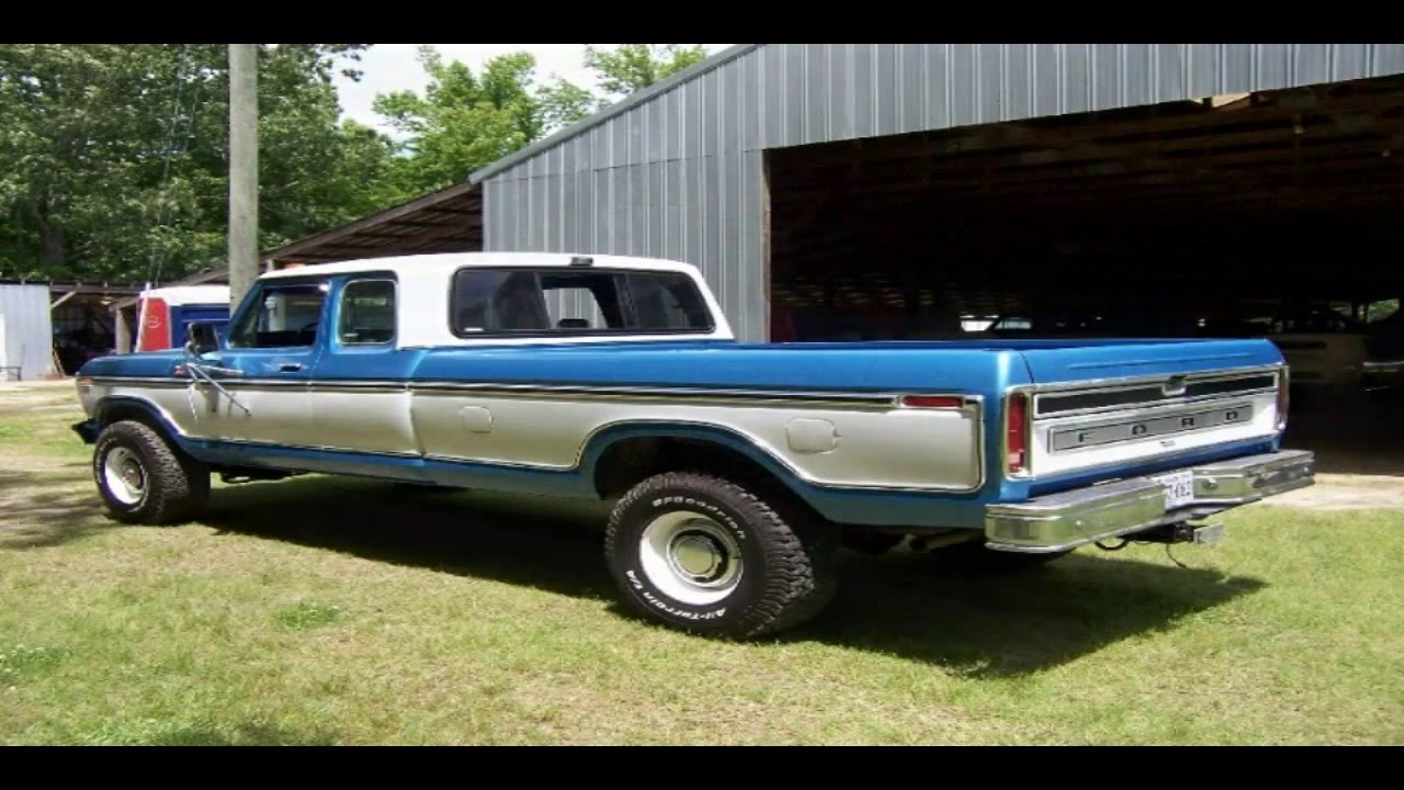 1979 Ford F350 4X4 Super Cab Pickup Truck - YouTube